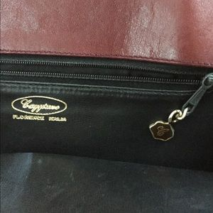 Caggiano Bags - Anthony Caggiano Italian Suede tote with 24k gold